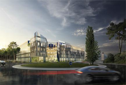 Concours pour la conception  de 12 000 m² de bureaux pour lefutur siège de CAPGEMINI à Mérignac [33]
