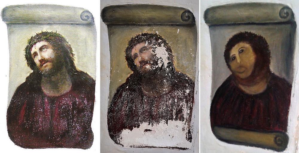 Ecce Homo, Jesus Christ, Fresco