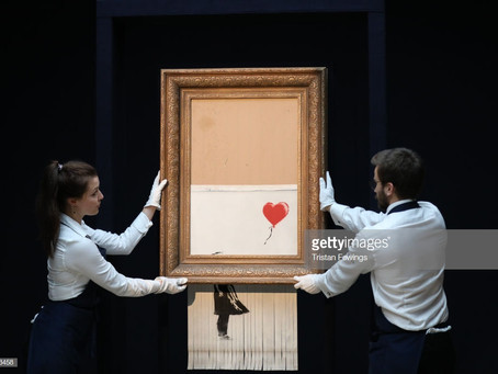 Banksy: Shredding the art world