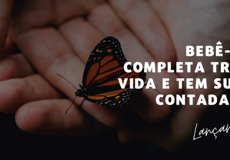 Bebê-borboleta completa três anos de vida e tem sua história contada num livro