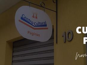 A Páginas inaugura o seu Centro Cultural!