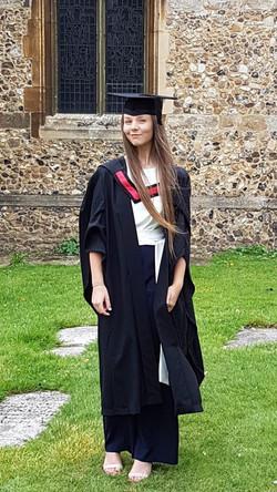 Graduation from Writtle University