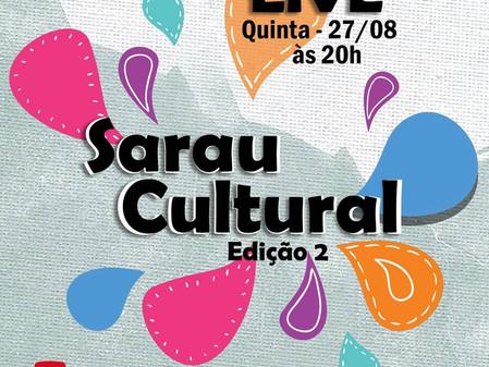 14ª live CIEMH2 COmVIDA - 2º Sarau Cultural