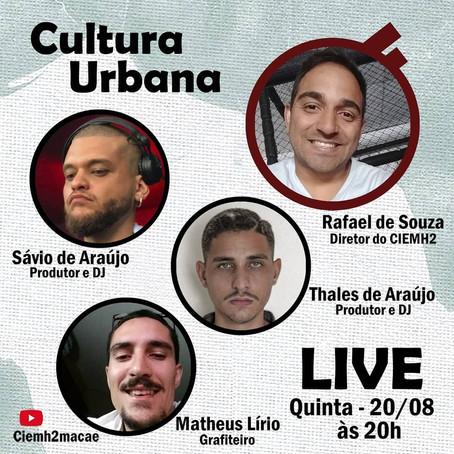13ª live CIEMH2 COmVIDA: Cultura Urbana