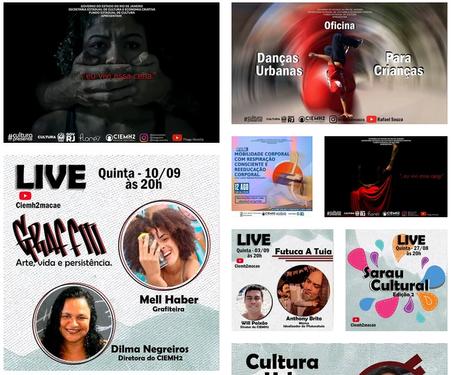 O CIEMH2 Núcleo Cultural se reinventa em meio virtual