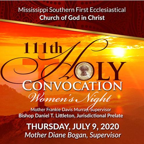 111th Holy Convocation - Thursday Service