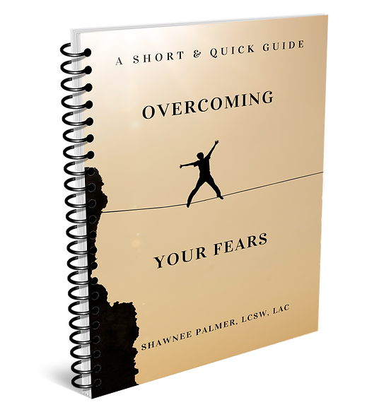Overcoming Your Fears by Shawnee Palmer