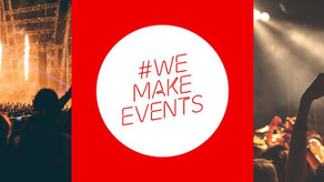 BEIRG supports the #WeMakeEvents campaign