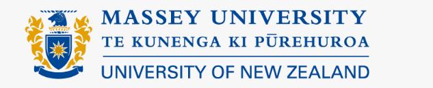 Massey University banner