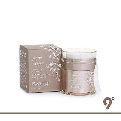 OXYGEN Organic Hops - Bee Venom & Organic Hop Treatment Masque