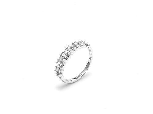 [R06] 18K白金鑽石戒指