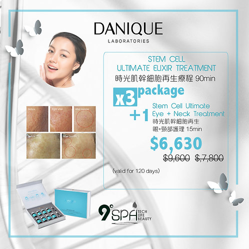 PACKAGE 9°SPA Stem Cell Ultimate Elixir Treatment
