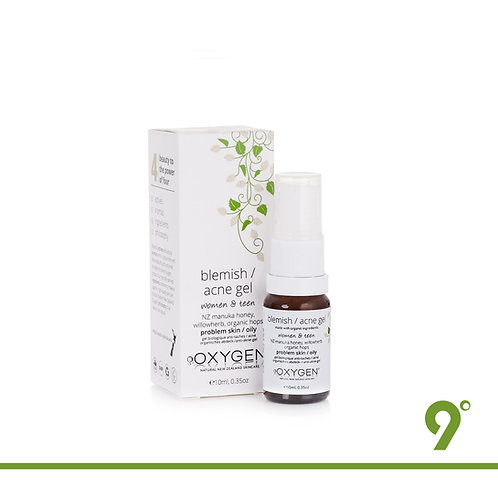 OXYGEN Organic Hops - Blemish/Acne Gel