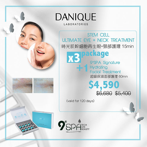 PACKAGE 9°SPA Stem Cell Ultimate Eye + Neck Treatment