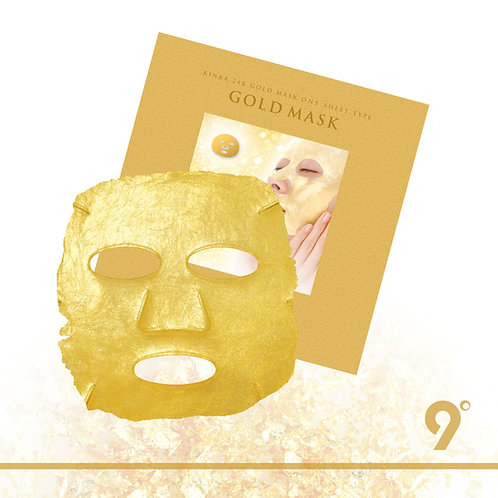 9°KINKA 金華24K黃金面膜片