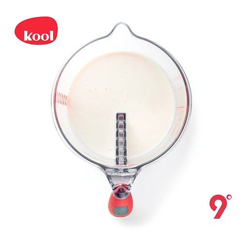 kool [ steps measuring jug ]