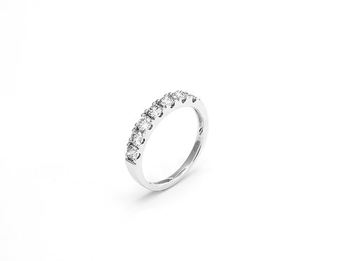 [ R13 ] 18K White Gold Diamond Ring