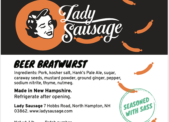 I'm A Brat - Beer Bratwurst