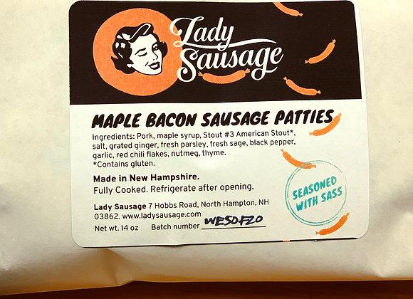 Maple Bacon Patties
