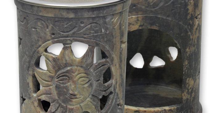 Weihrauchgefäß Speckstein mit Sieb