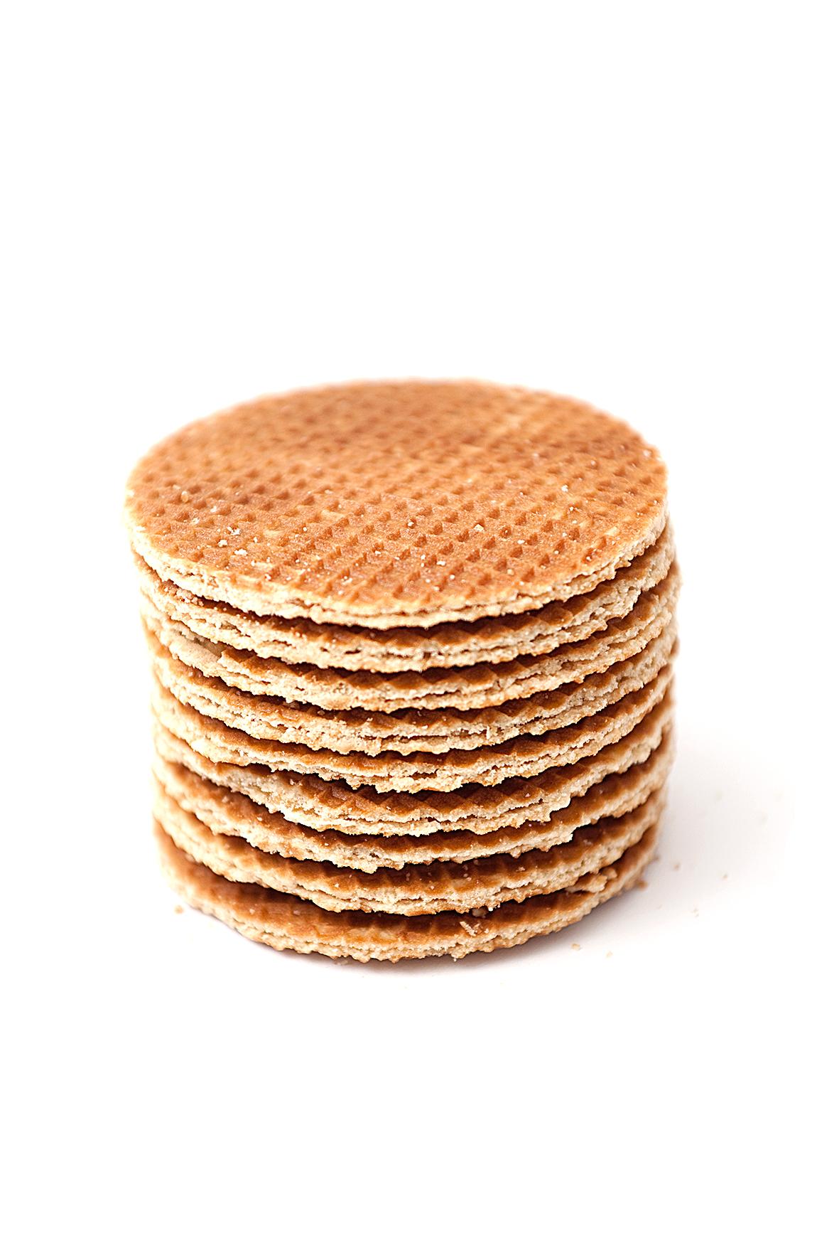 Syrup waffles (Stroopwafels)