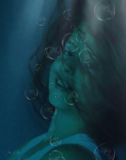 Evi Underwater Portrait