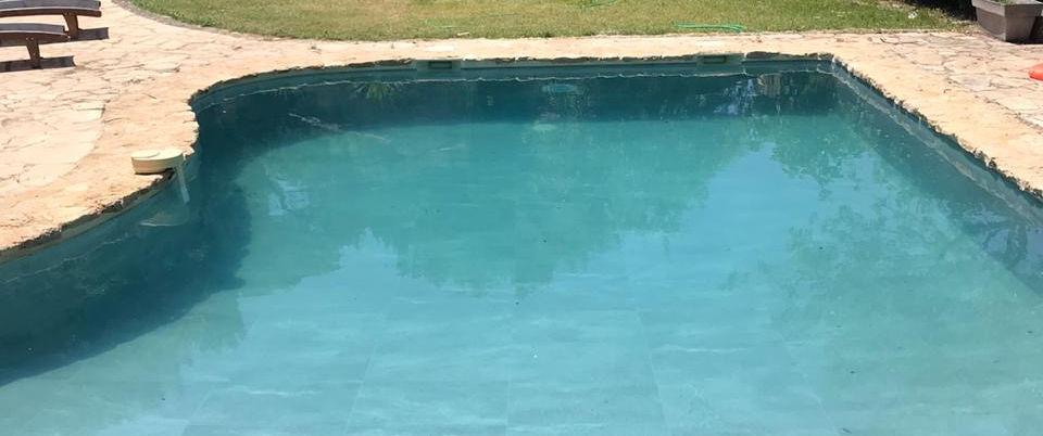 Swimming pool in a new skin
