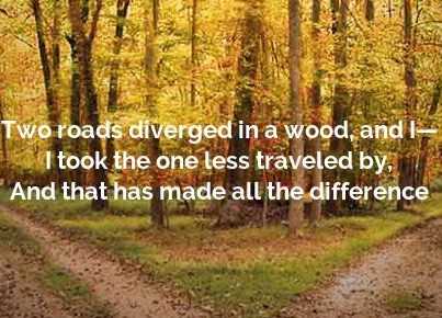 It is Alright to Take a Detour in Life