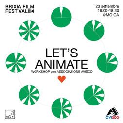 Let's animate! al Brixia Film Festival!