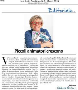 Editoriale di Valeria CovinI