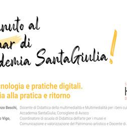 Webinar Hdemia SantaGiulia: Amica tecnologia