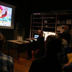 Workshop con Giuseppe Ragazzini