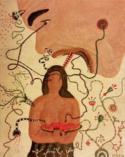 ero innamorato della ragazza tahitiana di Gauguin