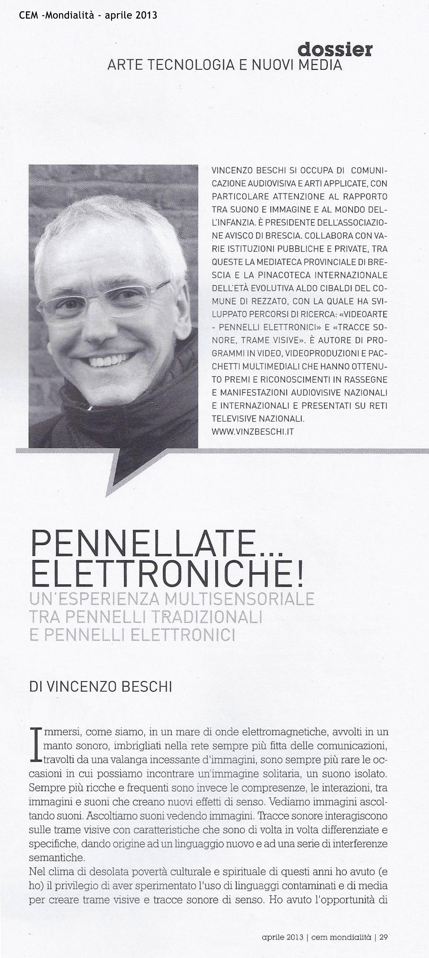 Cem_Pennellate elettroniche