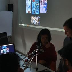 """""""Schermi attivi condivisi""""  con gli studenti dell'Accademia Santa Giulia"""