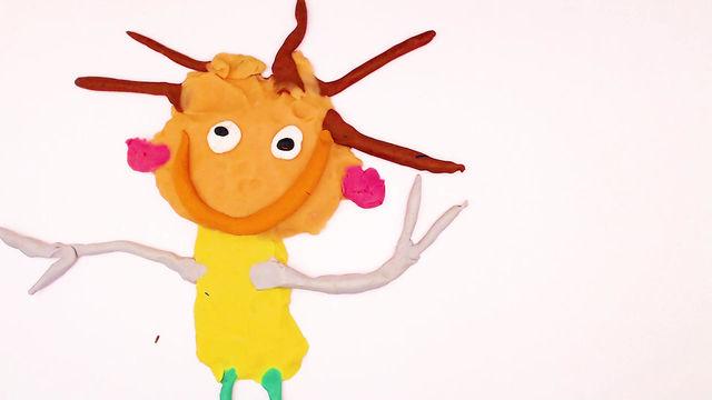 Leone creato da Noel, 5 anni