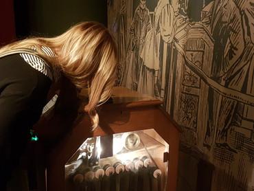 A visitar la mostra Soundframes al museo del Cinema di Torino