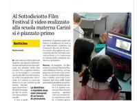 Primo premio al Sottodiciotto Film Festival di Torino!!!