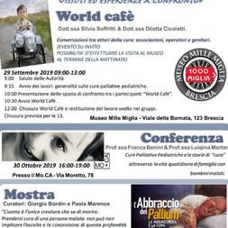 Le cure palliative pediatriche -Conversazioni tra attori della cura: associazioni, operatori sanitar