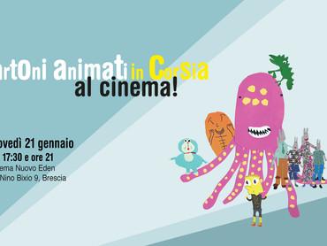 Cartoni animati in corsia...al cinema!