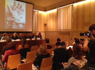 A Palazzo Marino per la conferenza stampa di INVIDEo
