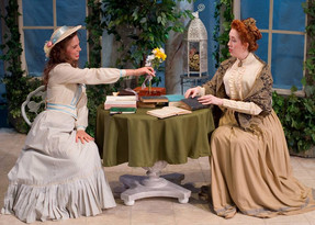 Miss Prism in The Importance of Being Earnest