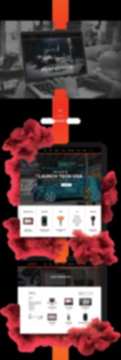 launch website - design system 2 - trans