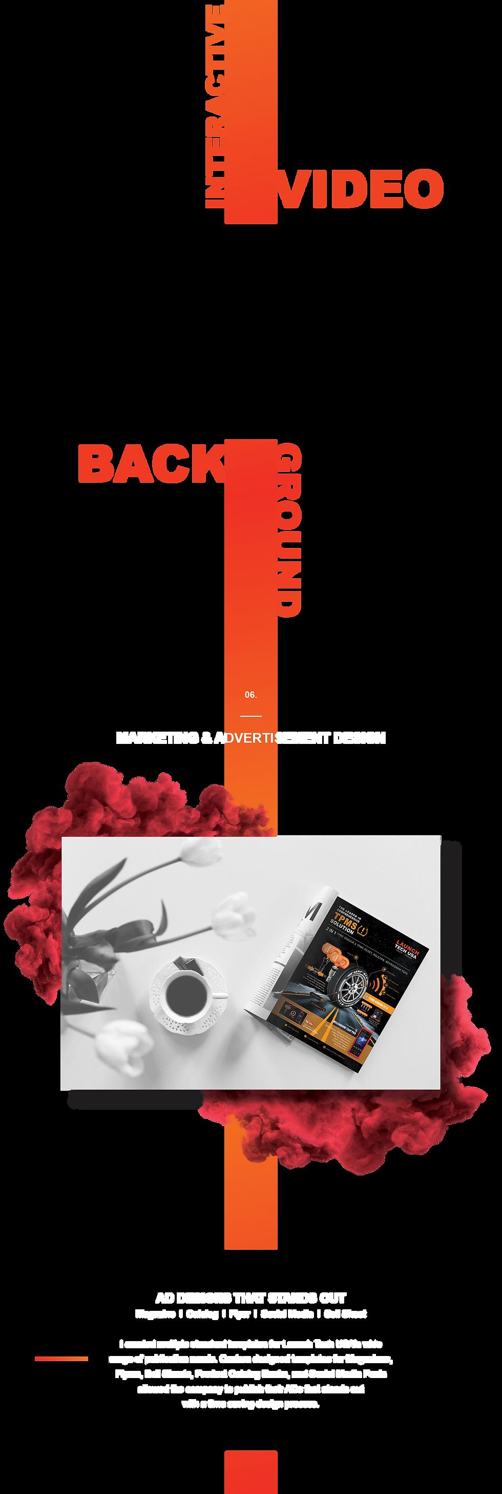 launch website - design system 3 - motio
