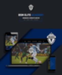 BSM Elite Academy - Web Portfolio Banner