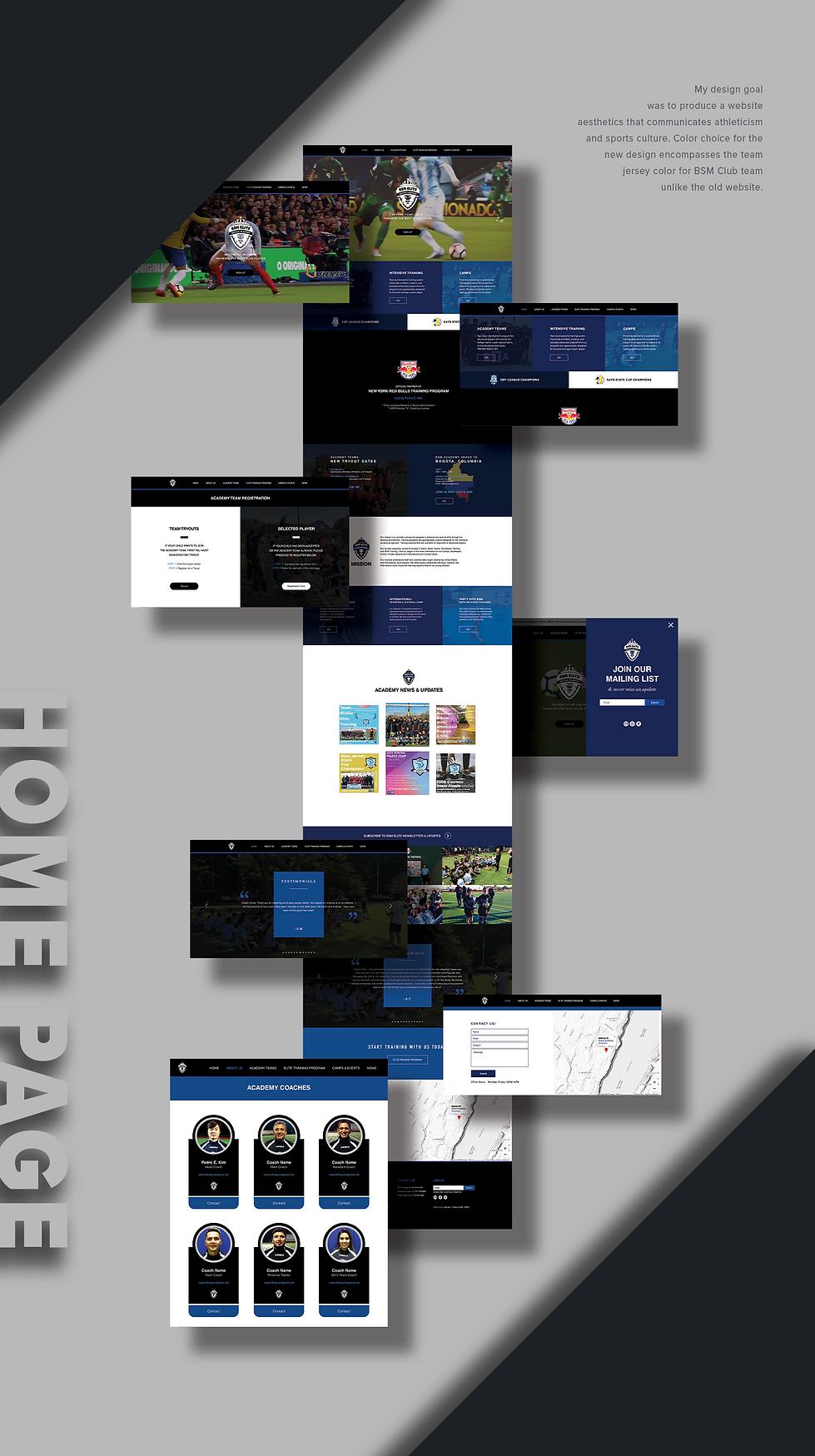 BSM Elite - Full Page Portfolio Presenta