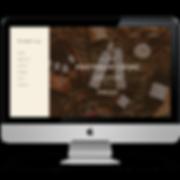 iMac- Portfolio Living Web Design Mockup