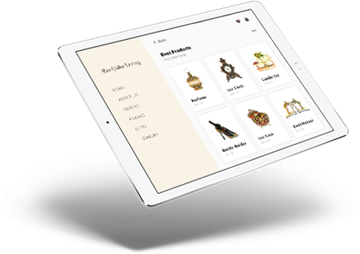 portfolio living floating ipad mockup.pn