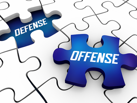 The Best Defense is a Strong Offense