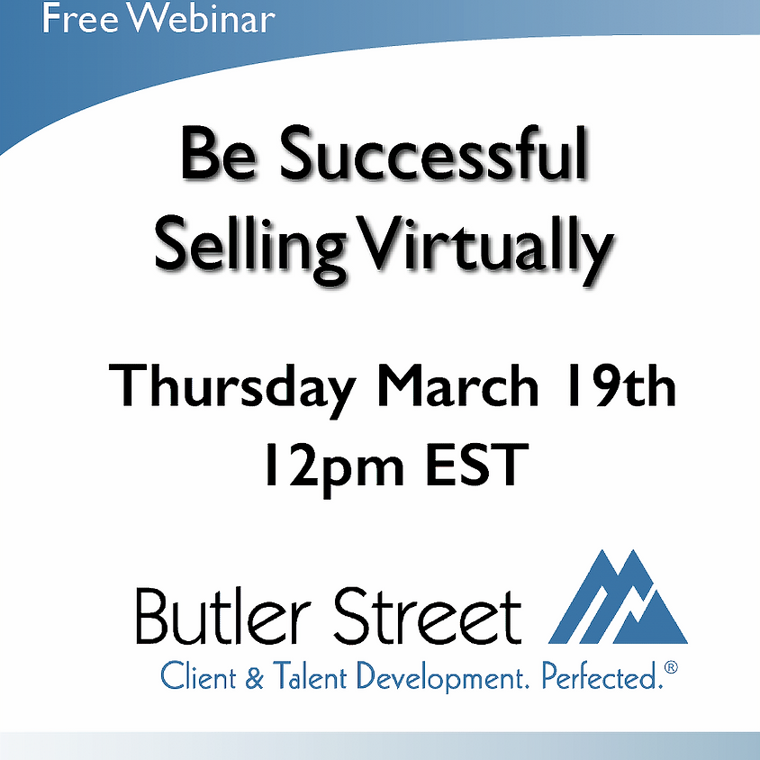 Be Successful Selling Virtually